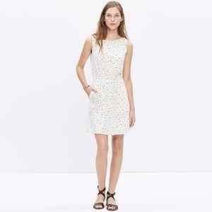 Madewell Silk Sheath Sleeveless Dress